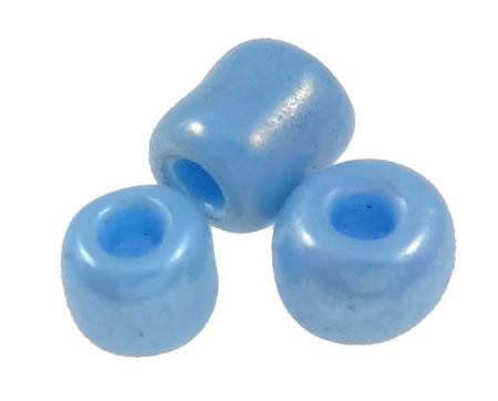 20 gram Rocailles Blauw gemeleerd