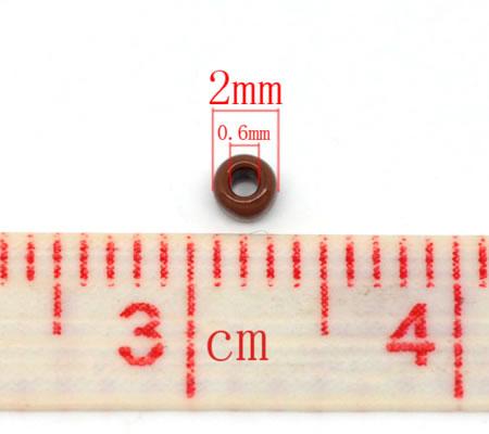 20 gram Rocaille 2 mm Donker Bruin
