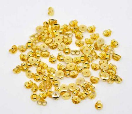 30 stuks stoppertjes goudkleurig