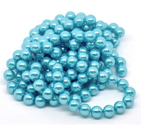 Glasparel Snoertje 10 mm Turquoise