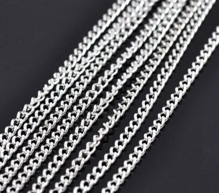 10 Meter Ketting Licht Zilver