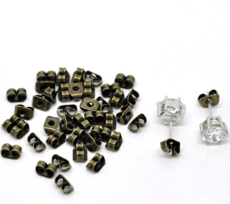 250 paar stoppertjes (500 stuks) Brons