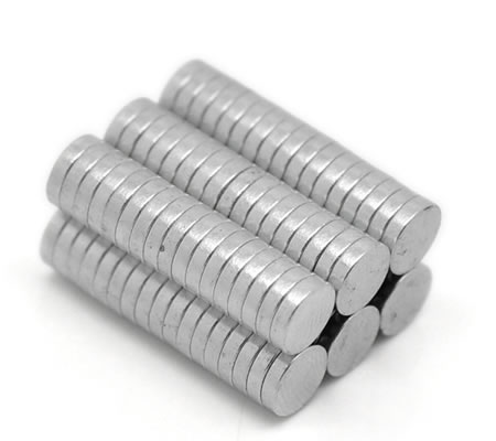 2x magneetje 8 mm