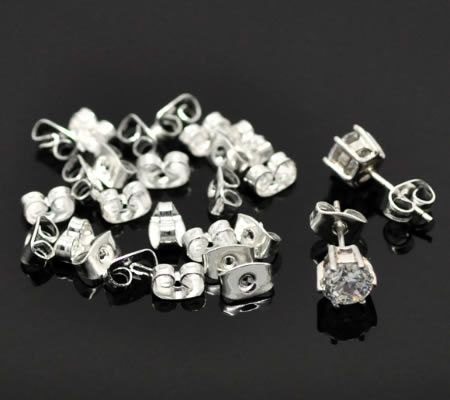 30 stuks stoppertjes donker zilverkleurig