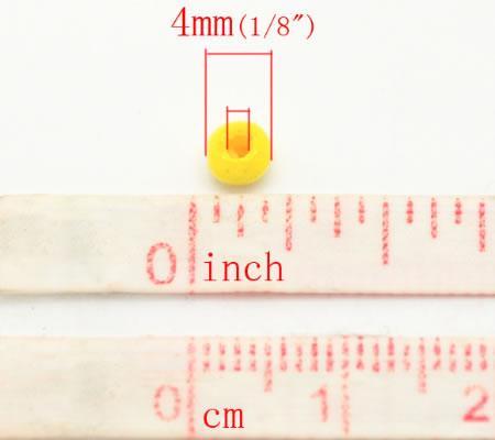 500 stuks houten kraaltjes mix 4 mm