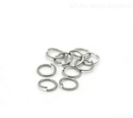 1000x roestvrijstalen (304) open ring 3.5 mm
