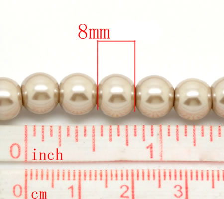 Snoertje Glasparel 8 mm