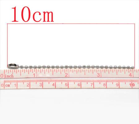 Sleutelhanger / Ophang / Label ketting 10 cm