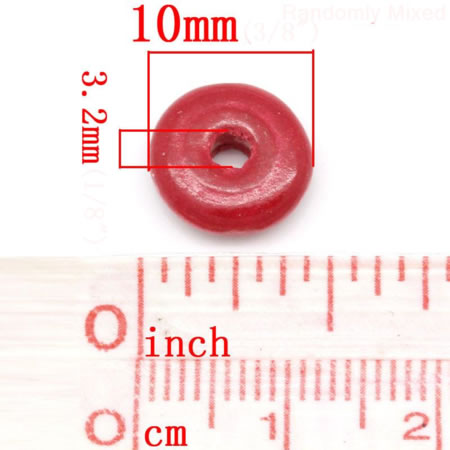 500x houtmix kraaltjes Disc