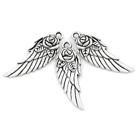 1x Engel Vleugel Bedeltje