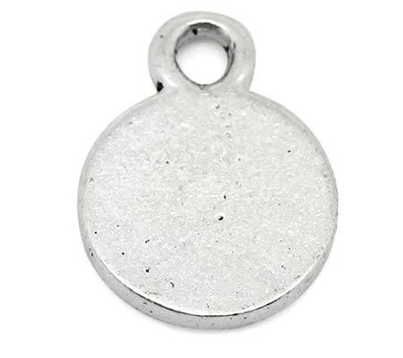 20 stuks Mini Bedeltjes Licht zilver