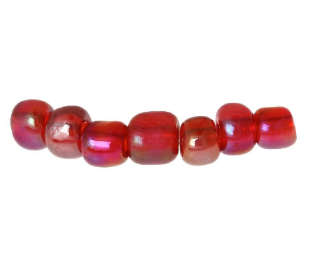20 gram Rocaille Rood AB (regenboog)
