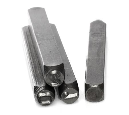 Metalen Slagstempels Cijfers