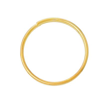 10x Splitringen Goudkleurig 15 mm