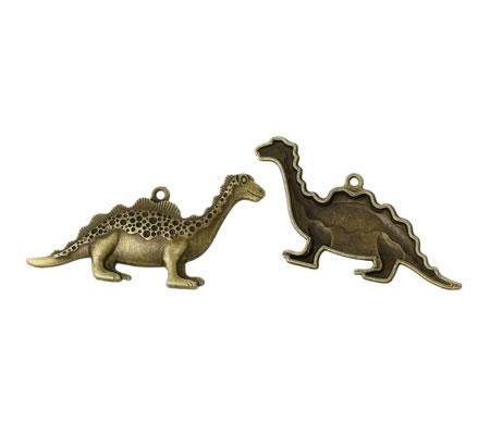 1x Grote Dinosaurus Bedel Brons
