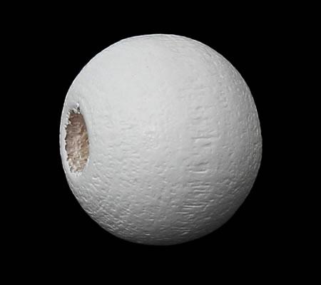 Houten Kraaltjes Wit