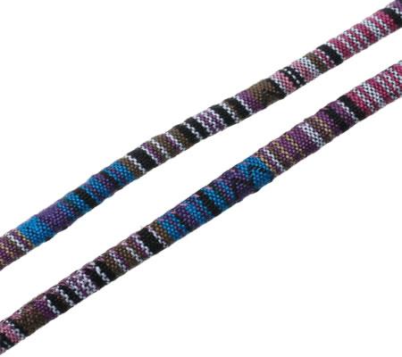 50 cm nylon koord gekleurd Aztec