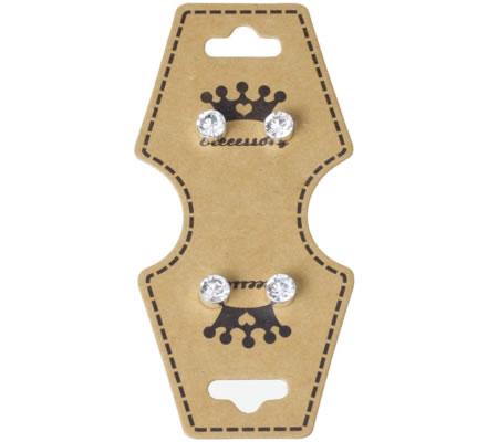 10x sieradenkaartjes Ketting en Oorbellen