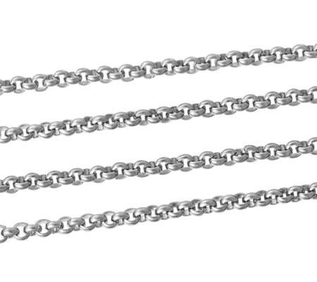 1 meter roestvrijstaal (304) ketting