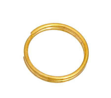50x Split Ringen Goudkleurig