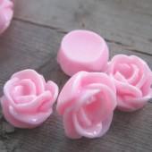 1x kunsthars roosje roze