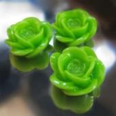 1x roosje groen
