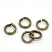 200 stuks Open ring brons