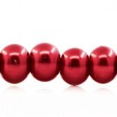 Snoertje Glasparel 4 mm Rood