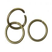 1500 stuks Open Ring brons 8 x 1 mm