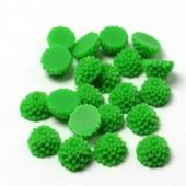 Cabochon chrysant Groen