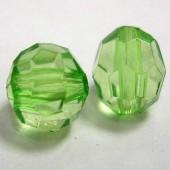 8 Gram Transparant Facet Kraaltje Groen