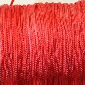 1 Meter nylon soepel vallend koord Rood