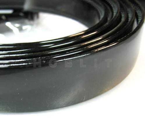 Acryl Diadeem Zwart 25 mm
