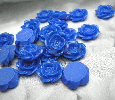 Roosje Kobaltblauw/Paars