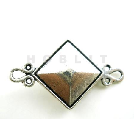 Luxe Magneetslot Donker Zilver