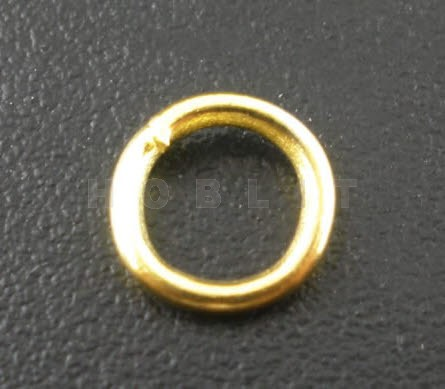 Open Ring Goudkleurig