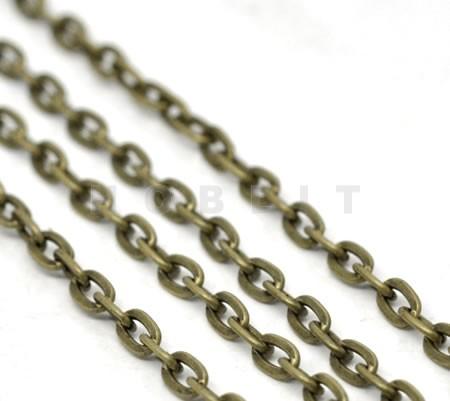 Jasseron / ketting brons
