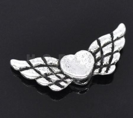 Metalen Engel vleugel kraaltjes