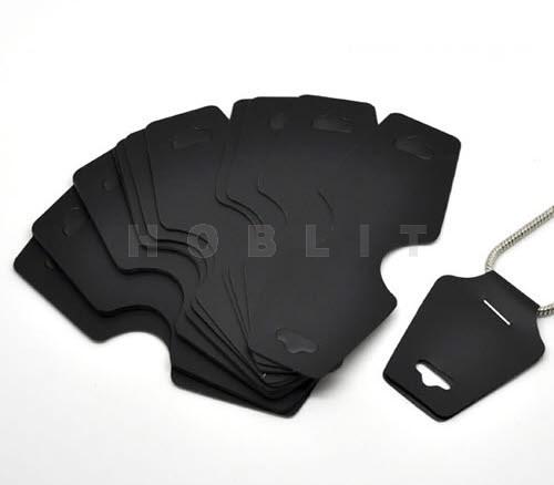 Kettingkaartjes Zwart