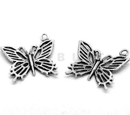 Bedel Vlinder Donker Zilver