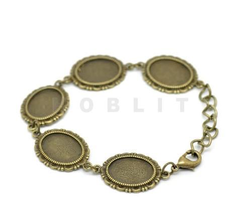 Cabochon Armband