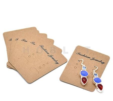 10 stuks oorbellen kaartjes met tekst