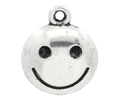 1x Bedeltje Emoticon Smile Emoji
