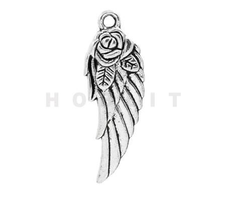 Vleugel Donker Zilver