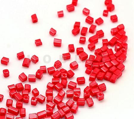 50 gram Rocailles 3 mm blokjes
