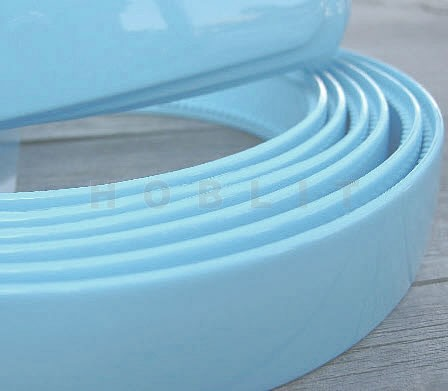 Acryl Diadeem licht turquouse/blauw