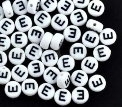 """Letterkraaltje """"E"""""""