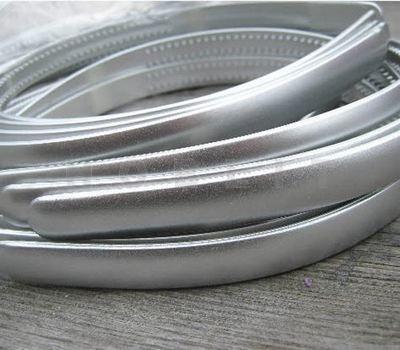 Acryl Diadeem Zilver 8 Mm