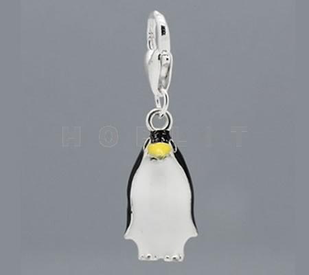 Bedeltje + Clip Pinguïn