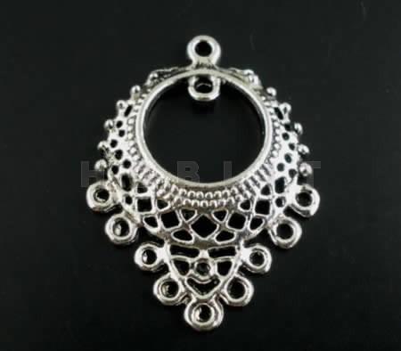 Ornament Donker Zilver